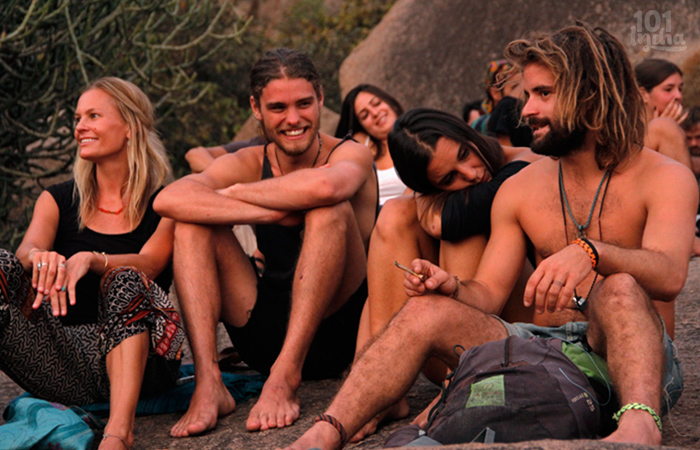 Free Spirited Hippies: Happy Hippies of Hampi