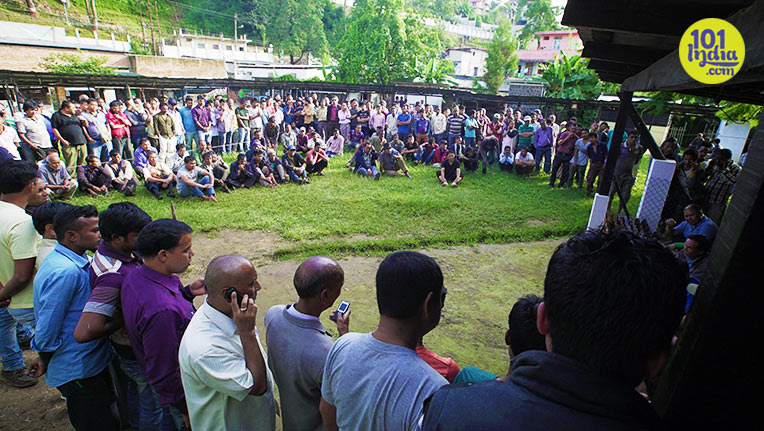 In Shillong, A Game Called Teer Is Responsible For Lakhs Of