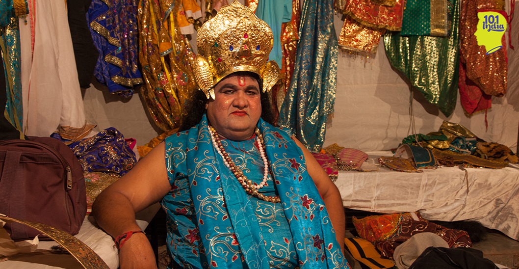 I Went Behind the Scenes Of Ramlila And Learnt The Make-Up Tricks Of A Lifetime