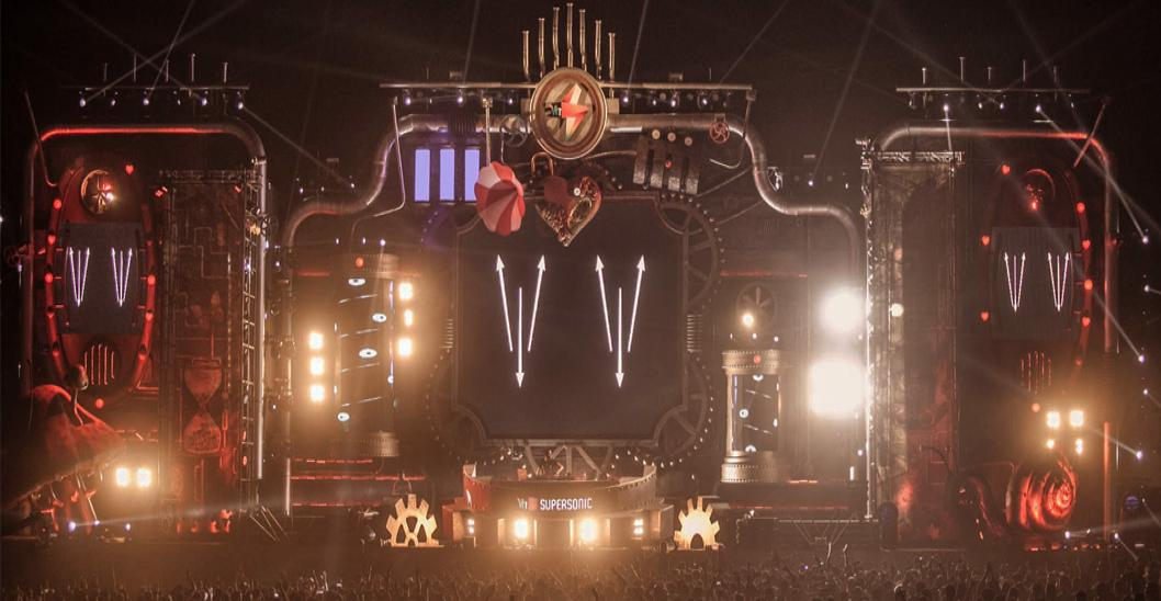 Loved The Stunning Stages At Supersonic? Meet The Man Who Made Them Cover Picture