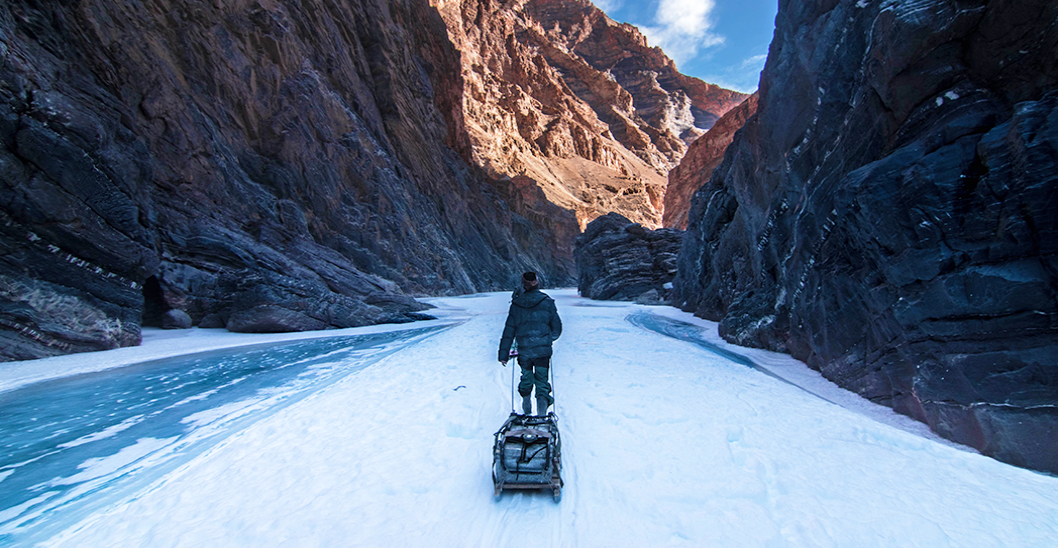 I Walked On A Frozen River In Ladakh