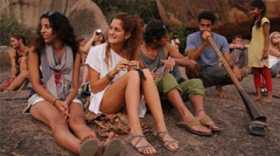 Happy Hippies of Hampi Thumbnail