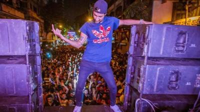 Ganpati Visarjan Frenzy With 'Bass Rani' Thumbnail