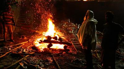 No Place For Women - The Cremation Ghat Of Banaras Article Thumbnail