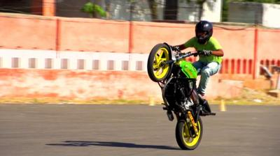 Stunting Riding Is Not A Crime - One Wheel Game Video Thumbnail