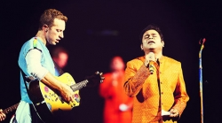 Chris Martin Coldplay A R Rahman Global Citizens Initiative Mumbai