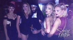 I Paraded Mumbai's Hottest Halloween Party As A Chic-Grungy Nun Thumbnail