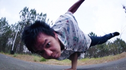 B-boy Kim Shillong's Hip Hop Sensation