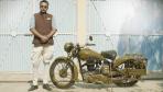 BSA M20 Vintage Motorcycle