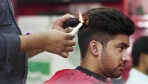 Fire Haircut In New Delhi | Oddly In India
